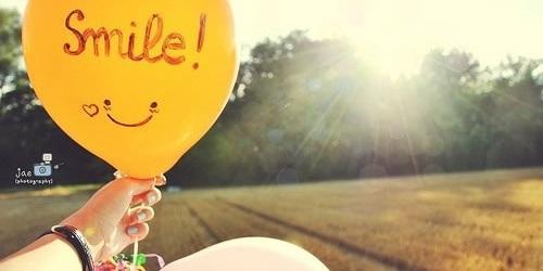 笑起来,世界就美好了!